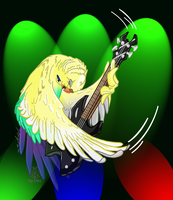 Budgie Rawks by Thagirion