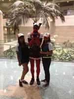 Deadpool with us Twins by Super-Star-luvr