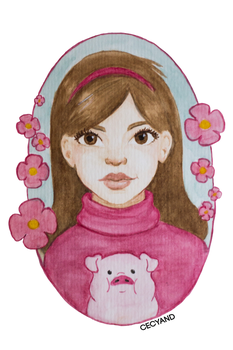 Mabel Pines by Cecyand