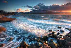 Rose Bay, Tasmania by alexwise