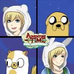 ArtTrade: Adventure Time by Piri-tan