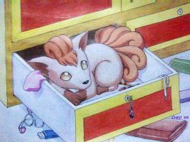 Vulpix in My Closet by ched101287