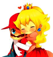 Mario x Peach 2 by MarioBros041210