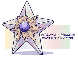PKMNN - Fairy-Fusion Staryu CLOSED by Thalateya