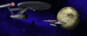 Enterprise n Exeter around Scratch Planet by Richard67915