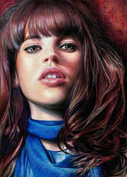 Felicity Jones by Pevansy