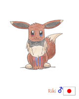 Riki the Eevee by Sir-Genesis