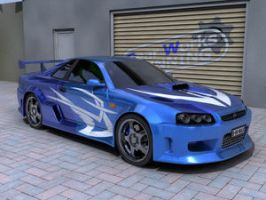 Nissan Skyline by firechief