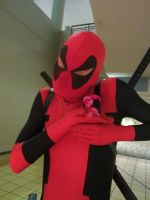 Matsuricon12- Dead Pool and Pinkie Pool by WolfK