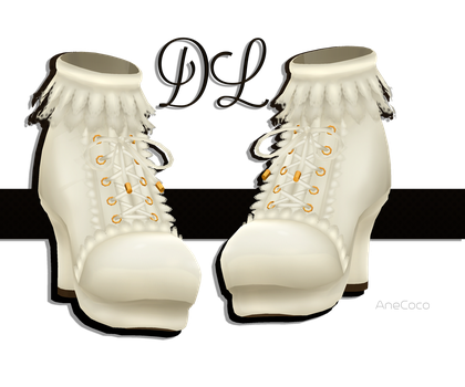 .:: MMD - Lolita Boots DOWNLOAD ::. by AneCoco