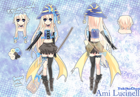 Ami Lucinell Reference [Witch form] by YukikaChan