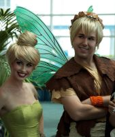 Tinkerbell and Terence Cosplay by Chingrish