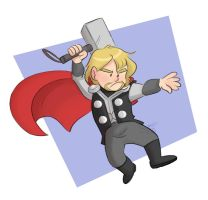 Lil' Thor by ComickerGirl