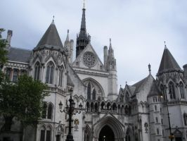 The Royal Courts of Justice by rlkitterman