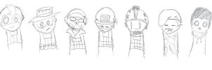 MW2 Doodle Chibis by animeangel724