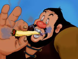 Giant Blunt by Makinita