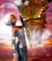 Stardust - For Lleo by Tielle
