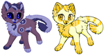 Kitty adopts (2/2 open) by Fluffy-fish-llama