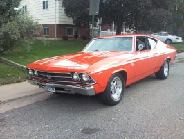 Orange Chevelle by HotRod-302