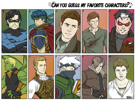 Favorite Characters meme by DeanGrayson