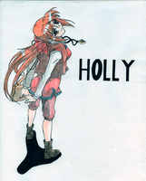 Holly - Monster Rancher by BlackLeatheredOokami