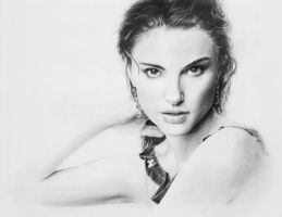Natalie Portman Drawing by Elucidator