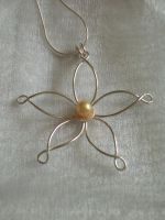 Flower Wedding Pendant by SongBird55