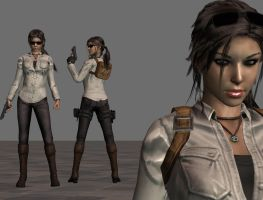 Tomb Raider 10 Lara Croft  ~FanMod~ by ItalianUtent
