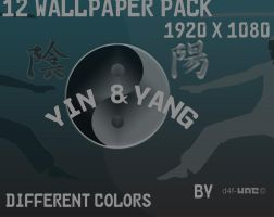 Yin Yang Wallpaper by d4fmac