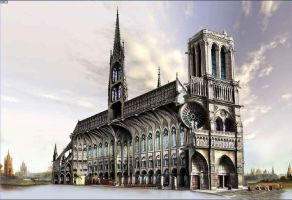 Notre Dame by Jubran