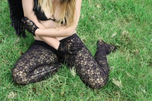 Lace and Grass by Spannie123