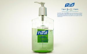 Purell Hand Sanitizer by ZDESIGN23