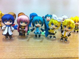 Vocaloid Big Five! by Animefangirl68