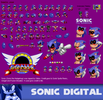 Sonic.exe full sprite sheet .:reuploaded:. by Johnny-HedgeWolf