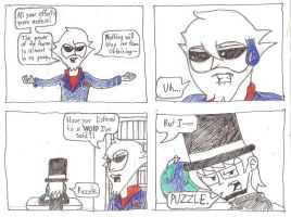 Comic Relief 94: More Puzzles by AgentXY14