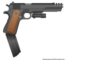 M1911 9mm by AtholTheDestroyer