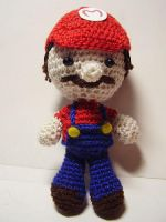 Super Mario Bros: Mario Doll by Nissie