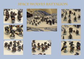 Space Wolves Battalion by Anararion