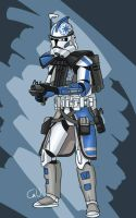 ARC trooper Ghost by Smackadoodledoo