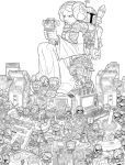 Star Wars Gaming Tribute Lineart by RobDuenas