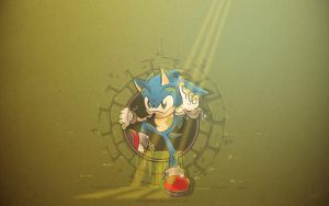 Sonic Underground (wallpaper) by SHIBUYA401