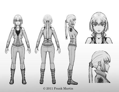 Character Visual Design 001 by Frank-Martin