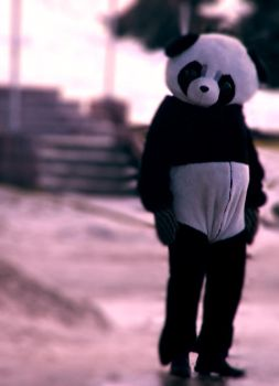 Panda Bear by cromaxx