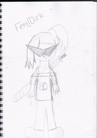 -january drawing #7- Fem dirk by The-Midnight-Sparkle