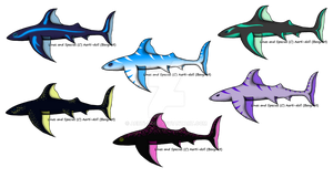 Wind Shark Set1 Adopts OPEN by aerti-doll