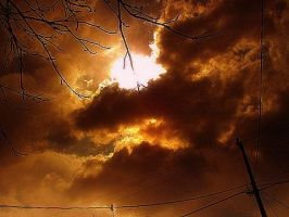 Fire In the sky by Pyro82