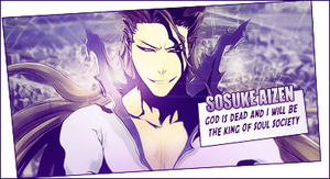 Aizen Comic Style Tag by TattyDesigns