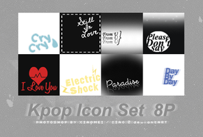 KPOP Icon Set by Ciao-A