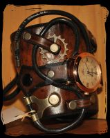 steampunk watch by Lagueuse