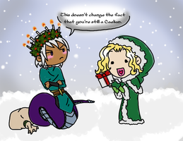 SoC: Winter friends: Olive Branch by ECGallery23